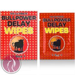 Bull Power:  Wipes Delay 6 pcs x 2 ml