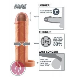 """Fantasy X-tensions Perfect 1"""" Extension with Ball Strap"""