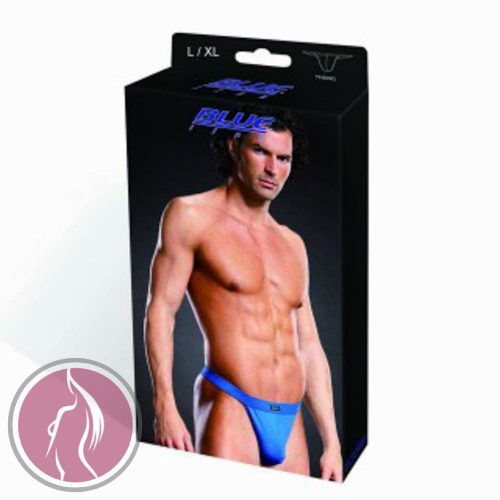 BLUE LINE Performance Microfiber Thong blue L/XL