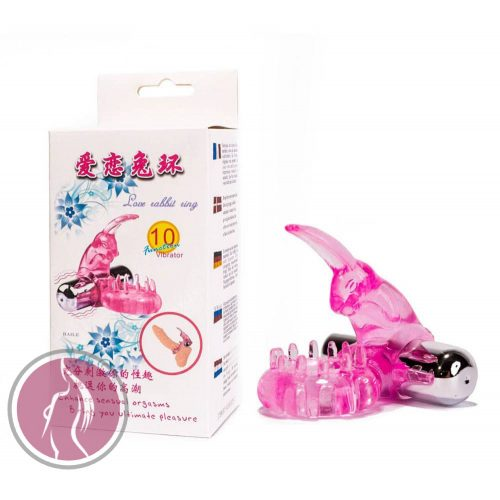 Cock Ring With Bullet Vibrator Pink