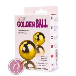 Golden Balls, two vibrators, multispeed, 2AA batteries