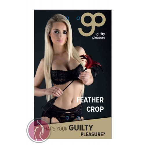 GP FEATHER CROP BLACK/RED