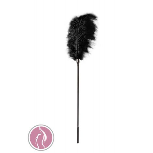 GP LARGE FEATHER TICKLER BLACK