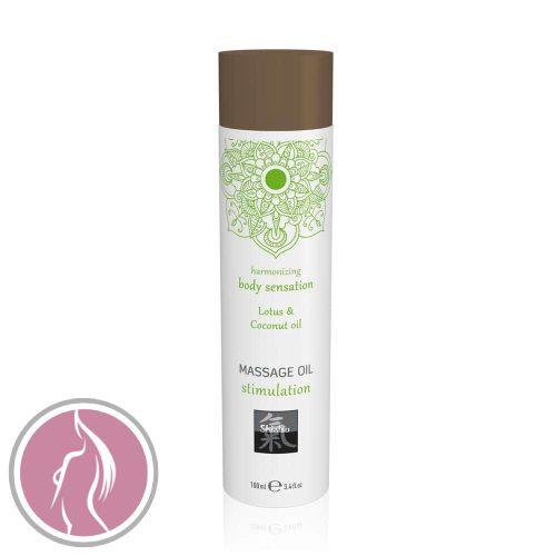 Massage oil stimulation - Lotus & Coconut oil 100ml
