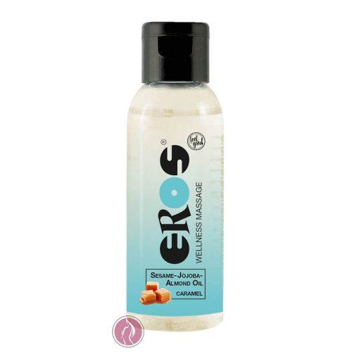 EROS Wellness Sesame-Jojoba-Almond Oil Caramel, 50 ml