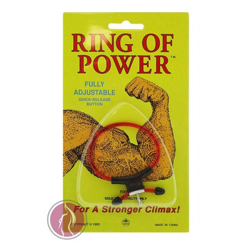 Adjustable Magic Ring Rubber red/black