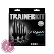 Renegade Pleasure Plug 3 pc Trainer Kit