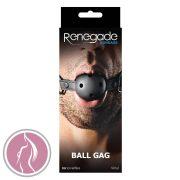 Renegade Bondage Ball Gag Black