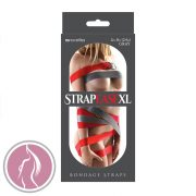 Strap-Ease XL Bondage Straps 8 Foot Gray