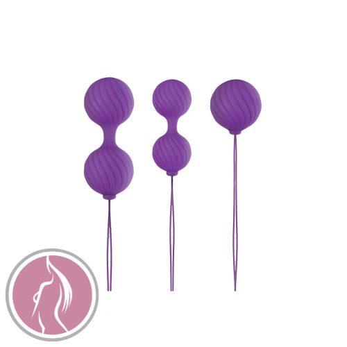 Luxe O' Kegel Balls Purple