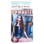 FF BEGINNERS BALL GAG RED