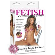 Fetish Fantasy Series Vibrating Triple Suckers