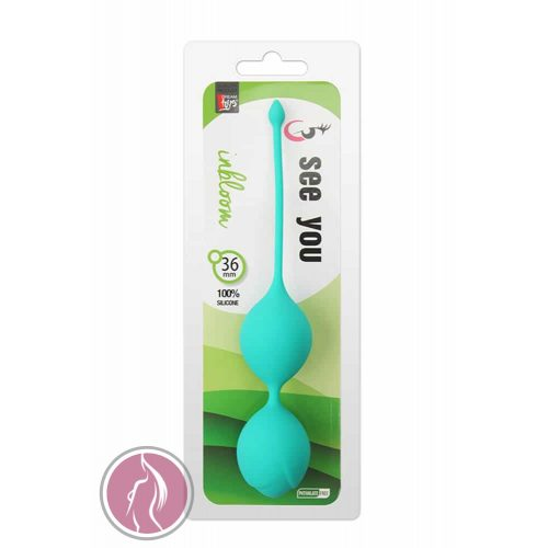 See You In Bloom Duo Balls 36 mm Green