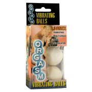 Orgasm Vibrating Ball - Ivory
