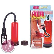 New Stay Hard Pump - Clear Red